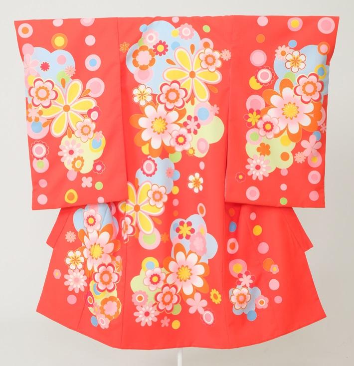 スタジオアリス衣装のしめ(祝い着)女の子