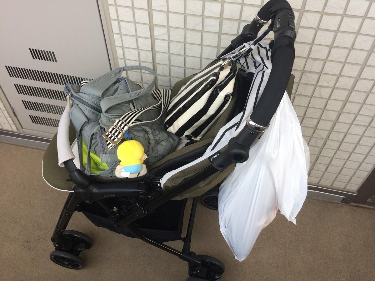 赤ちゃん本舗限定ベビーカーを購入!初外出で大人はグッタリ